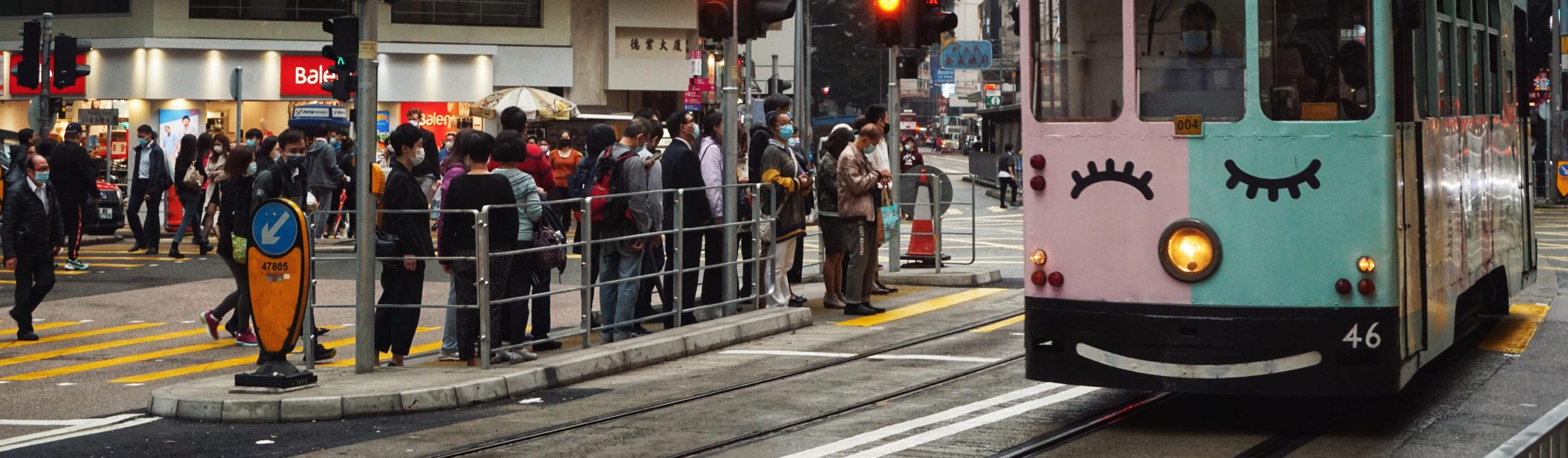 Crosswalk Asian City