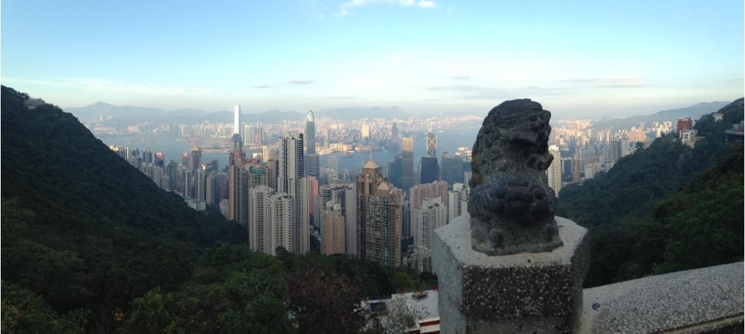 Hongkong-von-oben
