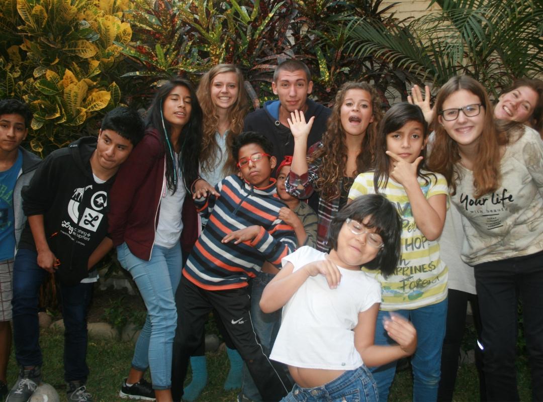 Peru-Jugendliche