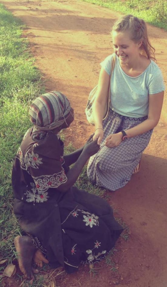 Uganda-Straßenszene